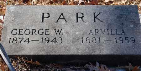 PARK, GEORGE W. - Jefferson County, Arkansas | GEORGE W. PARK - Arkansas Gravestone Photos