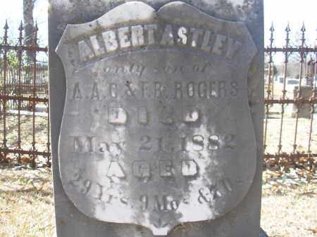 ROGERS, ALBERT ASTLEY - Jefferson County, Arkansas | ALBERT ASTLEY ROGERS - Arkansas Gravestone Photos