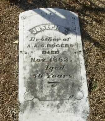 ROGERS, JOSEPH C. - Jefferson County, Arkansas | JOSEPH C. ROGERS - Arkansas Gravestone Photos