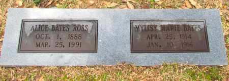 BATES, MYLISY MARIE - Jefferson County, Arkansas | MYLISY MARIE BATES - Arkansas Gravestone Photos