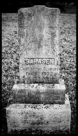 SARASEN, CHIEF - Jefferson County, Arkansas   CHIEF SARASEN - Arkansas Gravestone Photos