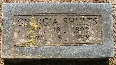 SHULTS, GEORGIA - Jefferson County, Arkansas | GEORGIA SHULTS - Arkansas Gravestone Photos