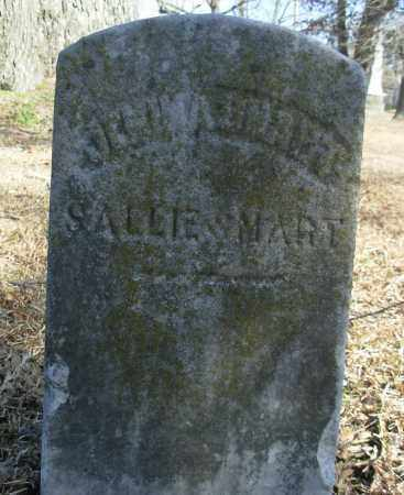 SMART, SALLIE - Jefferson County, Arkansas | SALLIE SMART - Arkansas Gravestone Photos