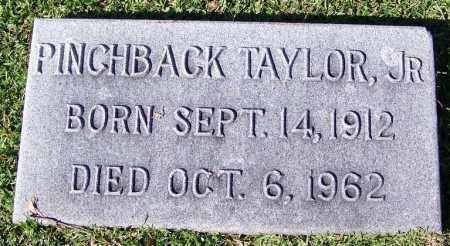 TAYLOR, JR, PINCHBACK - Jefferson County, Arkansas | PINCHBACK TAYLOR, JR - Arkansas Gravestone Photos