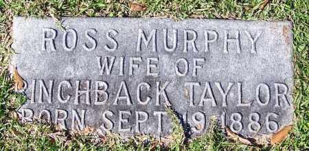MURPHY TAYLOR, ROSS - Jefferson County, Arkansas | ROSS MURPHY TAYLOR - Arkansas Gravestone Photos