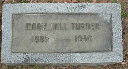 WILL TURNER, MARY - Jefferson County, Arkansas | MARY WILL TURNER - Arkansas Gravestone Photos