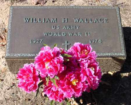 WALLACE (VETERAN WWII), WILLIAM H - Jefferson County, Arkansas | WILLIAM H WALLACE (VETERAN WWII) - Arkansas Gravestone Photos