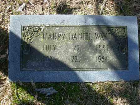 WAY, HARRY DANIEL - Jefferson County, Arkansas | HARRY DANIEL WAY - Arkansas Gravestone Photos