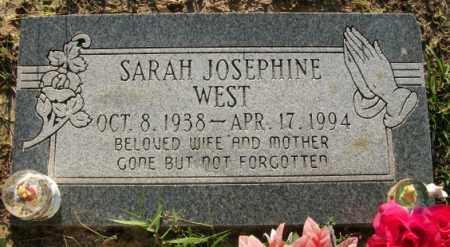 WEST, SARAH JOSEPHINE - Jefferson County, Arkansas | SARAH JOSEPHINE WEST - Arkansas Gravestone Photos