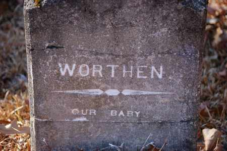 WORTHEN, BABY - Jefferson County, Arkansas   BABY WORTHEN - Arkansas Gravestone Photos