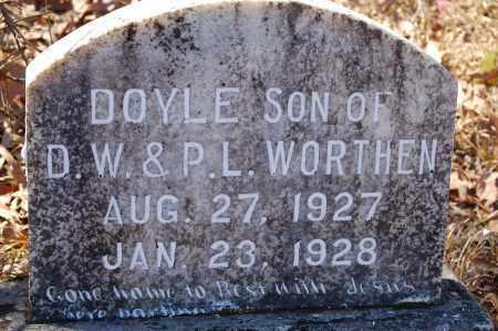 WORTHEN, DOYLE - Jefferson County, Arkansas | DOYLE WORTHEN - Arkansas Gravestone Photos