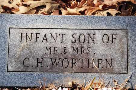 WORTHEN, INFANT SON - Jefferson County, Arkansas | INFANT SON WORTHEN - Arkansas Gravestone Photos