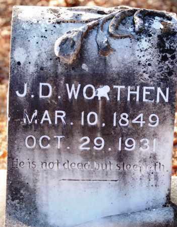 WORTHEN, J. D. - Jefferson County, Arkansas   J. D. WORTHEN - Arkansas Gravestone Photos