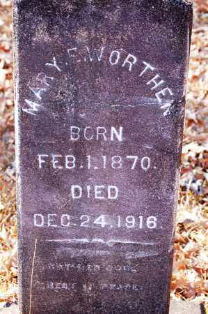 WORTHEN, MARY E. - Jefferson County, Arkansas | MARY E. WORTHEN - Arkansas Gravestone Photos