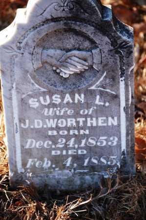 WORTHEN, SUSAN L. - Jefferson County, Arkansas | SUSAN L. WORTHEN - Arkansas Gravestone Photos