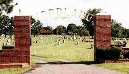 *WOODLAND MEMORIAL CEMETERY,  - Johnson County, Arkansas |  *WOODLAND MEMORIAL CEMETERY - Arkansas Gravestone Photos
