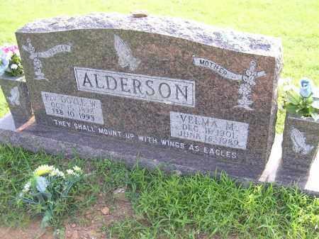 ALDERSON, DOYLE W - Johnson County, Arkansas | DOYLE W ALDERSON - Arkansas Gravestone Photos