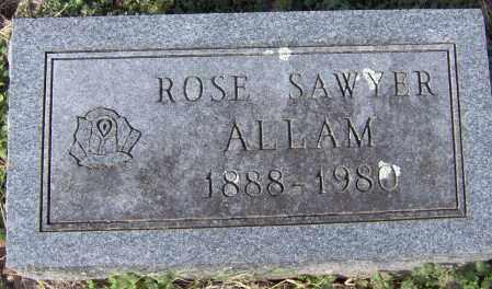 ALLAM, ROSE - Johnson County, Arkansas | ROSE ALLAM - Arkansas Gravestone Photos