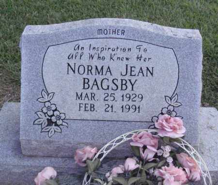 BAGSBY, NORMA JEAN - Johnson County, Arkansas | NORMA JEAN BAGSBY - Arkansas Gravestone Photos