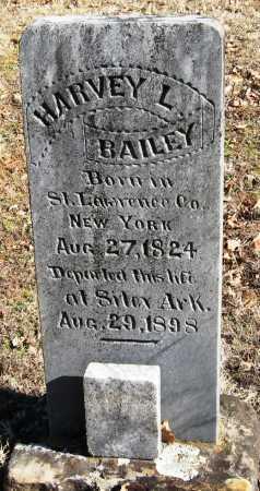 BAILEY, HARVEY L - Johnson County, Arkansas   HARVEY L BAILEY - Arkansas Gravestone Photos