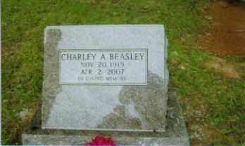 BEASLEY, CHARLEY - Johnson County, Arkansas   CHARLEY BEASLEY - Arkansas Gravestone Photos