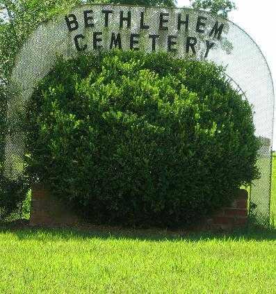 *BETHLEHEM CEMETERY SIGN,  - Johnson County, Arkansas |  *BETHLEHEM CEMETERY SIGN - Arkansas Gravestone Photos