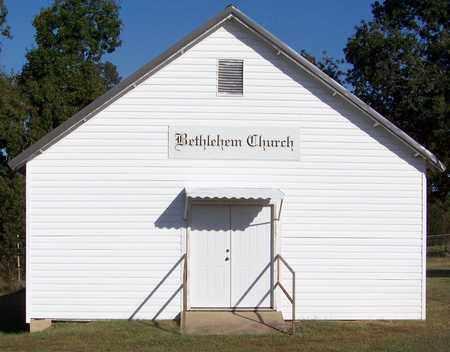 *BETHLEHEM CHURCH, . - Johnson County, Arkansas   . *BETHLEHEM CHURCH - Arkansas Gravestone Photos