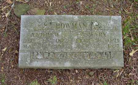 SMITH BOWMAN, MARY - Johnson County, Arkansas | MARY SMITH BOWMAN - Arkansas Gravestone Photos