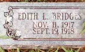 BRIDGES, EDITH L - Johnson County, Arkansas | EDITH L BRIDGES - Arkansas Gravestone Photos