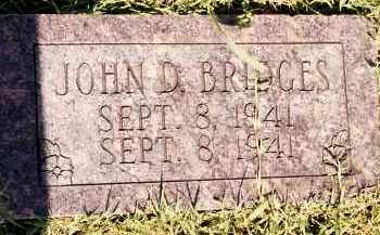 BRIDGES, JOHN D - Johnson County, Arkansas | JOHN D BRIDGES - Arkansas Gravestone Photos