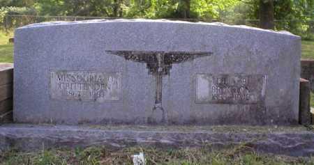 CRITTENDEN, MISSOURIA O. - Johnson County, Arkansas | MISSOURIA O. CRITTENDEN - Arkansas Gravestone Photos