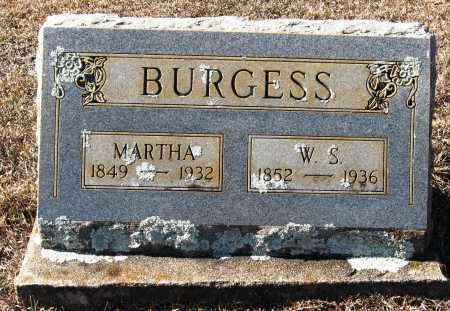 BURGESS, W S - Johnson County, Arkansas | W S BURGESS - Arkansas Gravestone Photos