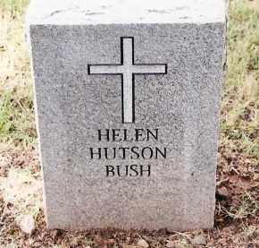 HUTSON BUSH, HELEN - Johnson County, Arkansas | HELEN HUTSON BUSH - Arkansas Gravestone Photos