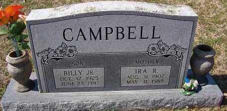 CAMPBELL, BILLY JR - Johnson County, Arkansas | BILLY JR CAMPBELL - Arkansas Gravestone Photos