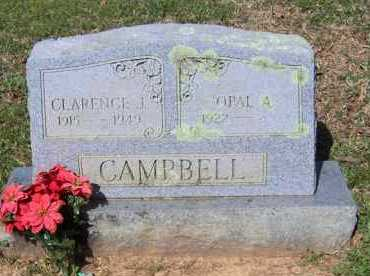 CAMPBELL, CLARENCE J - Johnson County, Arkansas   CLARENCE J CAMPBELL - Arkansas Gravestone Photos