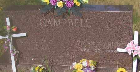 CAMPBELL, CLYDE CLESTON REV - Johnson County, Arkansas | CLYDE CLESTON REV CAMPBELL - Arkansas Gravestone Photos