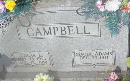 CAMPBELL, EDGAR LEE - Johnson County, Arkansas | EDGAR LEE CAMPBELL - Arkansas Gravestone Photos