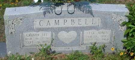 CAMPBELL, GROVER LEE - Johnson County, Arkansas | GROVER LEE CAMPBELL - Arkansas Gravestone Photos