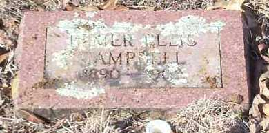 CAMPBELL, HOMER ELLIS - Johnson County, Arkansas | HOMER ELLIS CAMPBELL - Arkansas Gravestone Photos