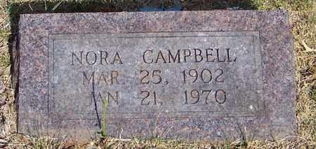 CAMPBELL, NORA - Johnson County, Arkansas   NORA CAMPBELL - Arkansas Gravestone Photos