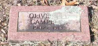 CAMPBELL, OLIVER LEE - Johnson County, Arkansas | OLIVER LEE CAMPBELL - Arkansas Gravestone Photos