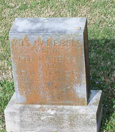 CAMPBELL, WILLIAM A - Johnson County, Arkansas   WILLIAM A CAMPBELL - Arkansas Gravestone Photos
