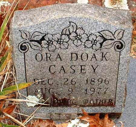 DOAK CASEY, ORA - Johnson County, Arkansas | ORA DOAK CASEY - Arkansas Gravestone Photos