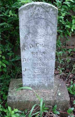 CHAILER, G. D. - Johnson County, Arkansas | G. D. CHAILER - Arkansas Gravestone Photos