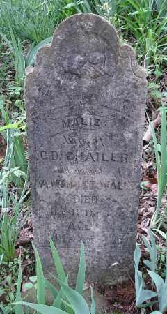 STOVALL CHAILER, MARIE - Johnson County, Arkansas | MARIE STOVALL CHAILER - Arkansas Gravestone Photos