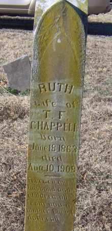 CHAPPELL, RUTH - Johnson County, Arkansas | RUTH CHAPPELL - Arkansas Gravestone Photos