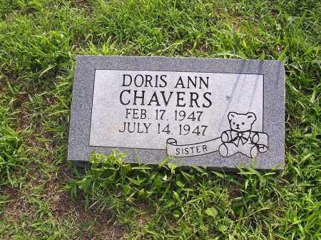 CHAVERS, DORIS ANN - Johnson County, Arkansas | DORIS ANN CHAVERS - Arkansas Gravestone Photos