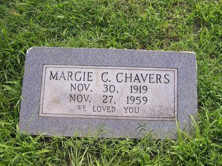 CHAVERS, MARGIE C - Johnson County, Arkansas | MARGIE C CHAVERS - Arkansas Gravestone Photos
