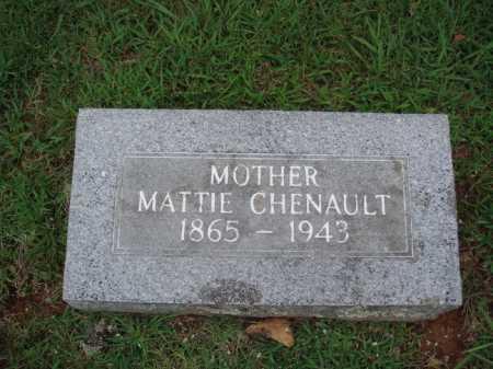 CHENAULT, MATTIE - Johnson County, Arkansas   MATTIE CHENAULT - Arkansas Gravestone Photos