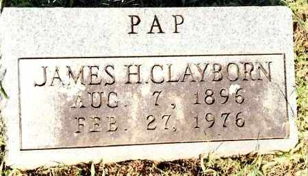 CLAYBORN, JAMES HORACE - Johnson County, Arkansas | JAMES HORACE CLAYBORN - Arkansas Gravestone Photos